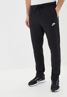 Брюки спортивные, Nike, цвет: черный. Артикул: NI464EMFLCQ1. Одежда / Брюки