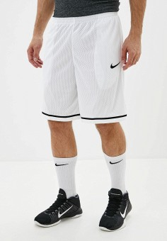 Шорты спортивные, Nike, цвет: белый. Артикул: NI464EMFNBO9. Одежда / Шорты