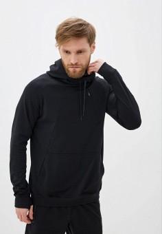 Худи, Nike, цвет: черный. Артикул: NI464EMHTZH7. Одежда / Толстовки и олимпийки / Худи
