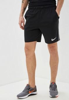 Шорты спортивные, Nike, цвет: черный. Артикул: NI464EMHTZL5. Одежда / Шорты