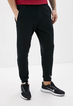 Брюки спортивные, Nike, цвет: черный. Артикул: NI464EMHTZM6. Одежда / Брюки / Спортивные брюки