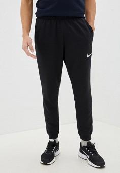 Брюки спортивные, Nike, цвет: черный. Артикул: NI464EMHTZM8. Одежда / Брюки / Спортивные брюки