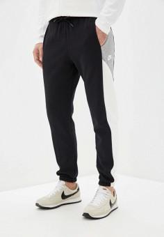 Брюки спортивные, Nike, цвет: черный. Артикул: NI464EMHUBY2. Одежда / Брюки / Спортивные брюки