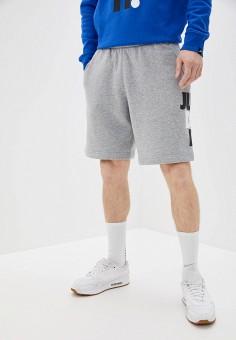 Шорты, Nike, цвет: серый. Артикул: NI464EMHUCC1. Одежда / Шорты
