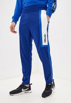 Брюки спортивные, Nike, цвет: синий. Артикул: NI464EMHUCQ3. Одежда / Брюки / Спортивные брюки