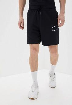 Шорты, Nike, цвет: черный. Артикул: NI464EMHUCS0.