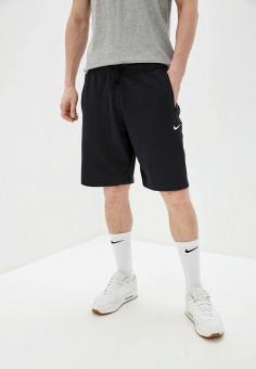 Шорты спортивные, Nike, цвет: черный. Артикул: NI464EMHUDX0. Одежда