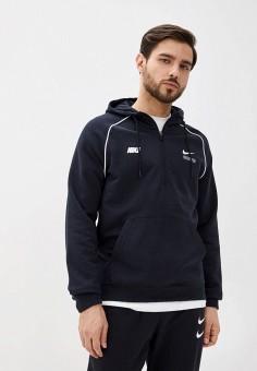 Худи, Nike, цвет: черный. Артикул: NI464EMHUDY9. Одежда / Толстовки и олимпийки / Худи