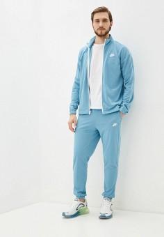 Костюм спортивный, Nike, цвет: бирюзовый. Артикул: NI464EMHUIQ1. Одежда / Спортивные костюмы