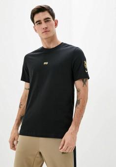 Футболка, Nike, цвет: черный. Артикул: NI464EMHUIU8. Одежда / Футболки и поло
