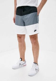 Шорты спортивные, Nike, цвет: мультиколор. Артикул: NI464EMHUJE1. Одежда / Шорты