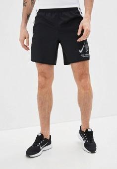 Шорты спортивные, Nike, цвет: черный. Артикул: NI464EMHUJL9. Одежда / Шорты
