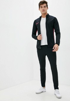 Костюм спортивный, Nike, цвет: черный. Артикул: NI464EMJOBQ0. Одежда / Спортивные костюмы