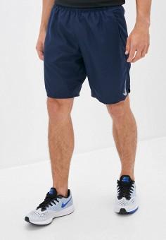 Шорты спортивные, Nike, цвет: синий. Артикул: NI464EMJOCV9. Одежда / Шорты