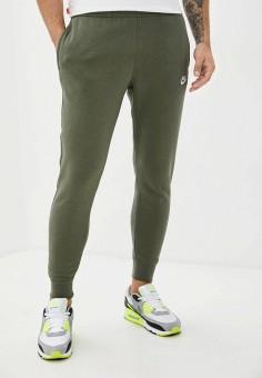Брюки спортивные, Nike, цвет: хаки. Артикул: NI464EMJODG1. Одежда / Брюки / Спортивные брюки
