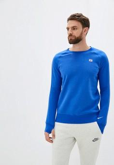 Свитшот, Nike, цвет: синий. Артикул: NI464EMJODM9.