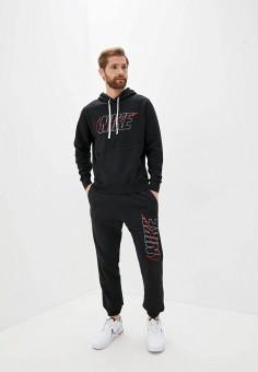 Костюм спортивный, Nike, цвет: черный. Артикул: NI464EMJOEH1.