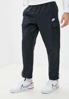 Брюки, Nike, цвет: синий. Артикул: NI464EMJOEH3. Одежда / Брюки