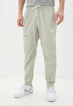 Брюки спортивные, Nike, цвет: бежевый. Артикул: NI464EMJOEQ2. Одежда / Брюки / Спортивные брюки