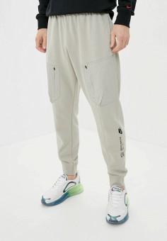 Брюки спортивные, Nike, цвет: зеленый. Артикул: NI464EMJOFM7. Одежда / Брюки