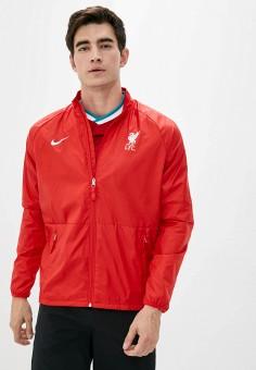 Ветровка, Nike, цвет: красный. Артикул: NI464EMJOFR4. Одежда / Верхняя одежда / Легкие куртки и ветровки