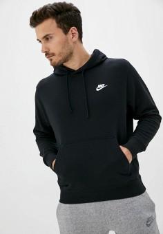 Худи, Nike, цвет: черный. Артикул: NI464EMJOIO6. Одежда / Толстовки и олимпийки / Худи