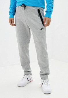 Брюки спортивные, Nike, цвет: серый. Артикул: NI464EMKDNZ7. Одежда / Брюки / Спортивные брюки