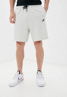 Шорты спортивные, Nike, цвет: бежевый. Артикул: NI464EMKDOA1. Одежда / Шорты