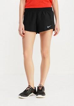 Шорты спортивные, Nike, цвет: черный. Артикул: NI464EWAAFD7. Спорт