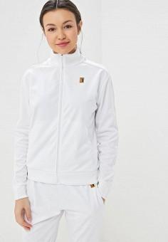 Олимпийка, Nike, цвет: белый. Артикул: NI464EWETRH5. Одежда / Толстовки и свитшоты