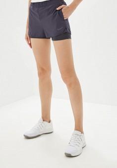 Шорты спортивные, Nike, цвет: серый. Артикул: NI464EWFLCT6. Одежда / Шорты
