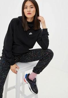 Худи, Nike, цвет: черный. Артикул: NI464EWFLCW5.