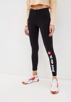 Леггинсы, Nike, цвет: черный. Артикул: NI464EWHTQC7. Одежда / Брюки / Леггинсы
