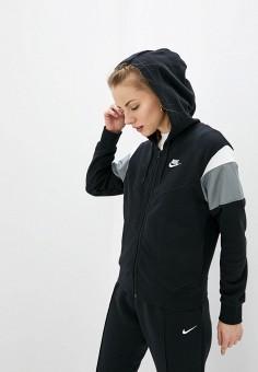Толстовка, Nike, цвет: черный. Артикул: NI464EWHTQG7. Одежда