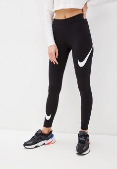 Леггинсы, Nike, цвет: черный. Артикул: NI464EWHTSS3. Одежда / Брюки / Леггинсы