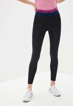 Тайтсы, Nike, цвет: черный. Артикул: NI464EWHTTN1.