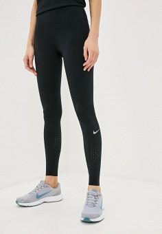 Тайтсы, Nike, цвет: черный. Артикул: NI464EWHTUI7. Спорт