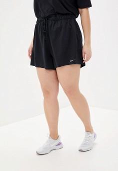 Шорты спортивные, Nike, цвет: черный. Артикул: NI464EWHTUS3. Спорт