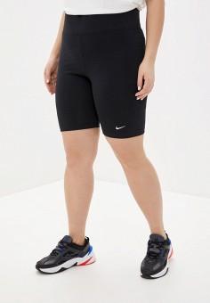 Шорты спортивные, Nike, цвет: черный. Артикул: NI464EWHTUT5. Одежда / Одежда больших размеров