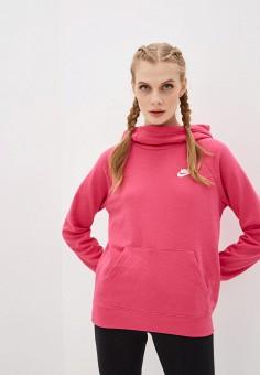 Худи, Nike, цвет: розовый. Артикул: NI464EWHUEN4. Одежда / Толстовки и свитшоты