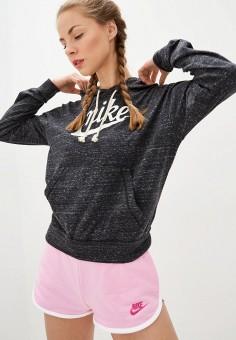 Худи, Nike, цвет: серый. Артикул: NI464EWHULG8. Одежда / Толстовки и свитшоты