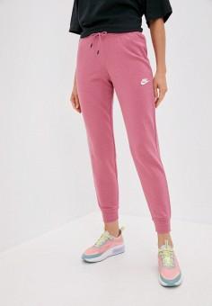 Брюки спортивные, Nike, цвет: розовый. Артикул: NI464EWJOJA3. Одежда / Брюки