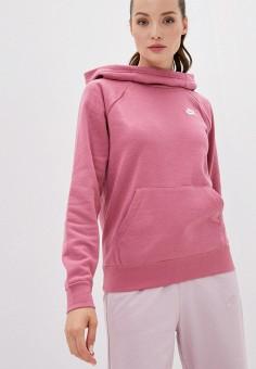 Худи, Nike, цвет: розовый. Артикул: NI464EWJOJB3. Одежда / Толстовки и свитшоты