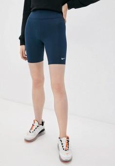 Шорты спортивные, Nike, цвет: синий. Артикул: NI464EWJOJE8.