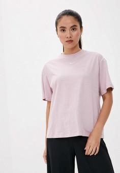 Футболка, Nike, цвет: розовый. Артикул: NI464EWJOJU1. Одежда / Футболки и поло / Футболки