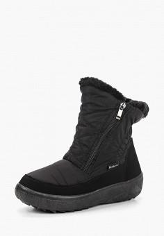 Дутики, Nobbaro, цвет: черный. Артикул: NO021AWCYTB5. Обувь / Сапоги / Дутики