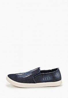 Слипоны, Nobbaro, цвет: синий. Артикул: NO021AWEUUQ1. Обувь / Слипоны