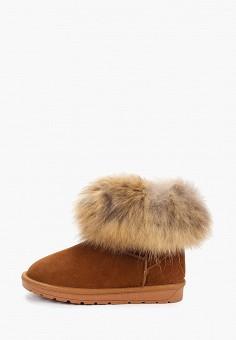 Полусапоги, Nobbaro, цвет: коричневый. Артикул: NO021AWGAWD1. Обувь / Сапоги / Угги и унты