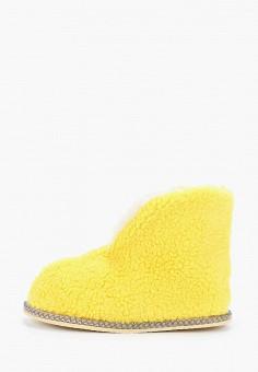 Тапочки, Nobbaro, цвет: желтый. Артикул: NO021AWGAWF0. Обувь / Домашняя обувь