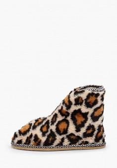 Тапочки, Nobbaro, цвет: коричневый. Артикул: NO021AWGAWF6. Обувь / Домашняя обувь